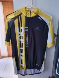 Camisa ciclismo Mauro Ribeiro semi nova