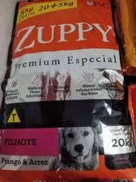 Ração Zuppy Filhote 20kg + 5kg grátis