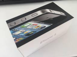 Caixa e acessórios iPhone 4