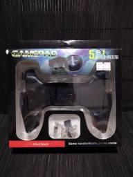 Manete Gamepad 5 Em 1 Controle Para Celular Pubg Freefire