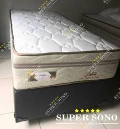 Conj Box Lotus Pelmex Solteiro 88x188 Mola Bonnel Prolastic A Pronta Entrega