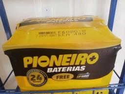 Baterias pioneiro 60ah,3397-2074, com 2 anos de garantia