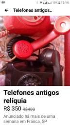 Telefones antigos lote