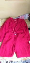 conjunto de blazer e calça