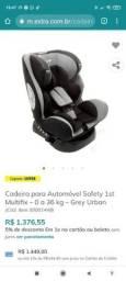 Cadeira para Automóvel Safety 1st Multifix ? 0 a 36 kg ? Grey Urban