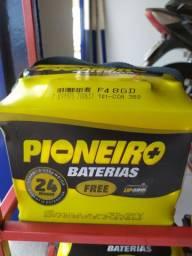 Bateria automotiva 48 amperes 24 meses de garantia