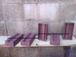 Forma manual tijolo maciço