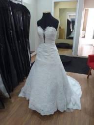 Vestido de noiva ajustável