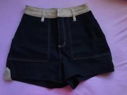 Short Jeans Feminino - Tam 38
