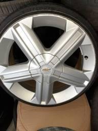 Rodas 17 modelo Astra GSI R$1.750