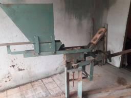 Máquina de fábrica tijolos ecológicos.