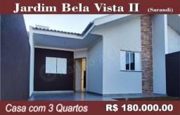 Casa no Jd. Bela Vista II em Sarandi.