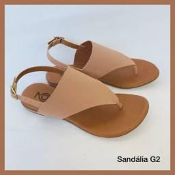 Sandálias e percatas