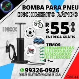 Top Bomba de encher Pneu e Bola (entrega grátis)