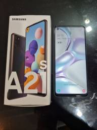 Samsung A21s 64gb, leitor biométrico, semi novo.
