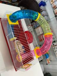 Gaiola de Hamster com Tubo Grande