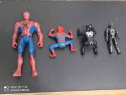 Kit de bonecos do Homem-Aranha