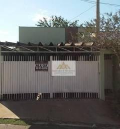 Casa com 3 dormitórios para alugar, 107 m² por R$ 900,00/mês - Planalto Verde - Ribeirão P