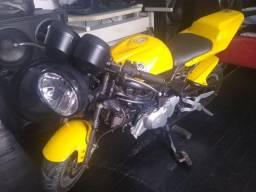Vendo moto tipo ninja  50 cilindrada  funcionando tudo