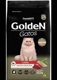 Ração Golden Gatos Premium Especial Adulto Carne 10kg