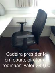 Cadeira presidente, giratória