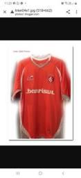Camiseta do inter oficial da topper ano 2004 à 2005 100% original