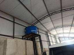 Vendo barracão de estrutura metálica