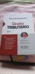 Livro de direito tributário Ricardo Alexandre