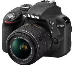 Título do anúncio: Nikon DSLR D3300 nova na caixa
