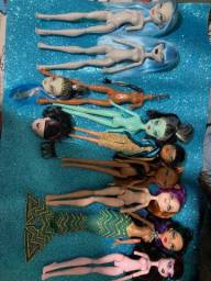 Lote sucata monster high