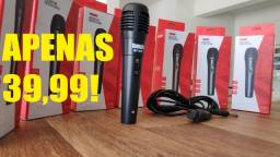 Microfone Profissional P10 (Acompanha Cabo)