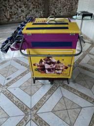 carrinho de açaí ou picolé completo