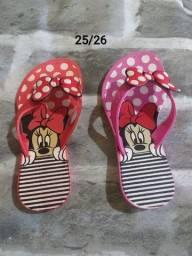 Lindas sandálias infantil