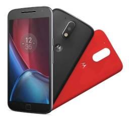 [1 Ano de Garantia]Smartphone Moto G4 Plus 32GB Leitor Biométrico, Dual Chip Câmera 16MP