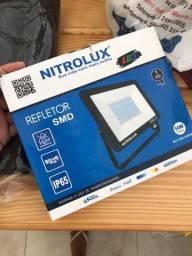 REFLETOR LED LUZ FRIA NITROLUX 50w