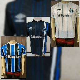 Camisas do Grêmio.