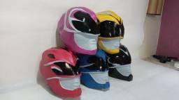 Capacetes Novos Power Rangers