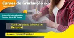 curso em Graduação EAD - Sem pagar antecipado