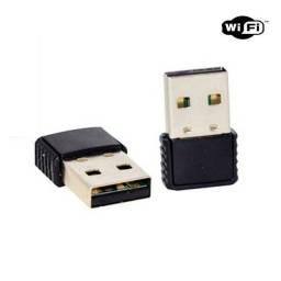 Adaptador Wireless Plug Nano Pc Notebook Sem Fio Internet