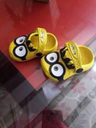 Sandália infantil Minions<br><br>