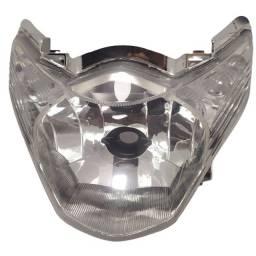 Farol Bloco Globo Optico Titan 150 Flex Mix 2011 até 2013 Pisca Cristal Modelo Original