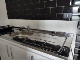 Armario de cozinha com Pia Inox *NOVO* 160cm 3 Portas