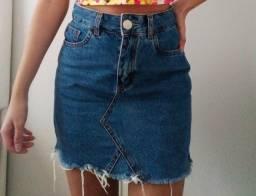 Saia jeans vintage