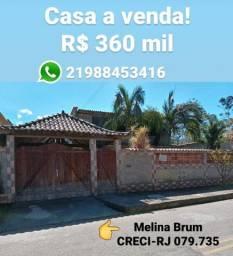 Vendo casa em Guapimirim-2 quartos sendo 1 suíte, churrasqueira e piscina