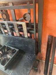 Fogão 4 bocas industrial com forno