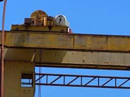 Ponte Rolante 12 Toneladas 14 Metros com estrutura completa