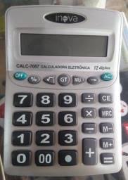 COD:0095 Calculadora Eletrônica Inova Modelo-7057