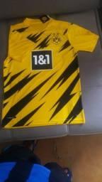 Camisa Borussia Dortmund 2021 ( Haaland 9) $90
