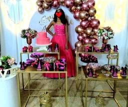 Vestido rosa Pink Aluguel