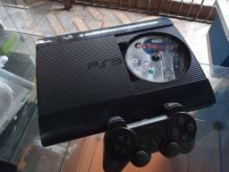 PS3 super slim destravado com 16 jogos no hd